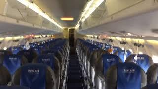 Салон самолета Bek Air сняли на видео после экстренной посадки в Таразе | Kholo.pk