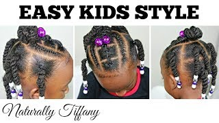 Easy Style For Tots | Type 4 Hair | Kids Natural Hair Care