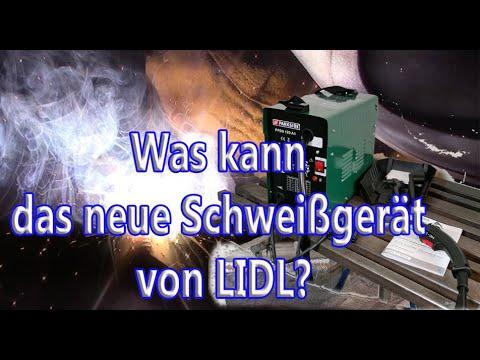 LIDL - Was kann das neue Schweißgerät?