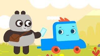 Мультфильм про машинки -  Грузовичок Пик - Панда - почтальон +Клад - для самых маленьких