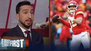 If Titans score 28 points it won't be enough to beat Chiefs — Nick Wright | NFL | FIRST THINGS FIRST