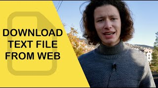 How To Download A Text File From The Web In Xcode 11 (Swift 5)