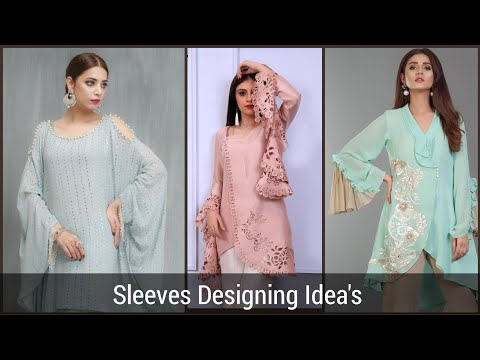 New trendy and Useful Sleeves Designs 2019/2020, Latest bell Sleeves Designs