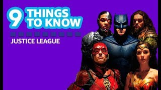 9 Things to Know About 'Justice League' | IMDb ORIGINAL