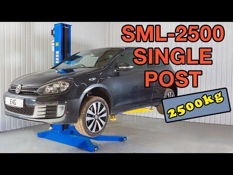 E4G SML-2500 1 Post Lift Full Version