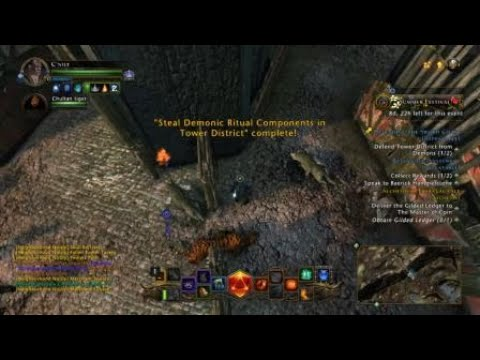 Neverwinter - All locations to Demonic Ritual Components