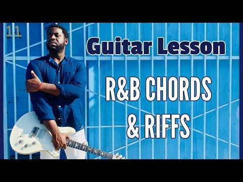 R&B chords and riffs