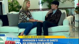 Ana Hickmann Entrevista Ken Humano [Balanço Geral PE - 05.06.15]