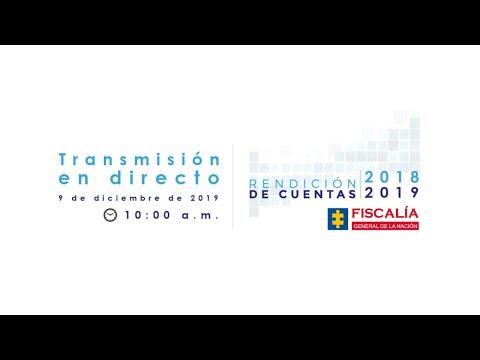 Audiencia Pública de Rendición de Cuentas 2018-2019
