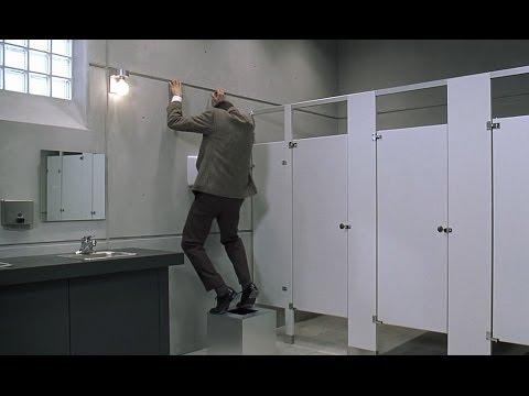 מיסטר בין מסתבך בשירותים