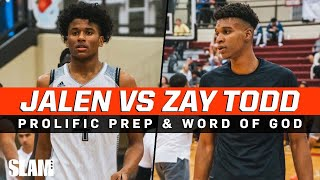Jalen Green & Nimari Burnett vs Isaiah Todd!? HEATED Game 🔥