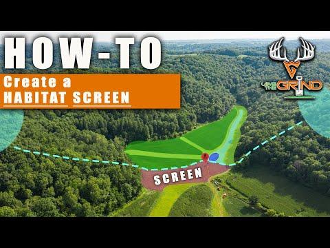 HOW TO : Create a HABITAT SCREEN