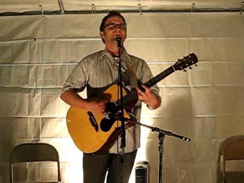 "Evan Atherton performs Jason Mraz's ""I'm Yours"" at Oktoberfest in Mount Carroll, IL 10/24/09"