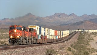 HD: Cajon And Needles Subdivision Railfanning In April 2014