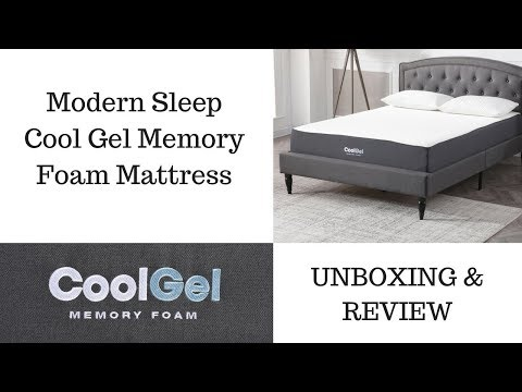 Modern Sleep Cool Gel Memory Foam Mattress – WALMART Product *UNBOXING & REVIEW!*
