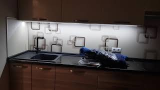 Ремонт для большой семьи. Раздвижные двери, кухня гостинная