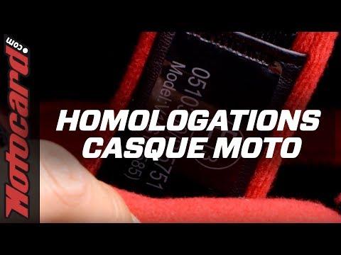 Casque moto HOMOLOGUÉ ? Quelles sont les normes ? 🧐