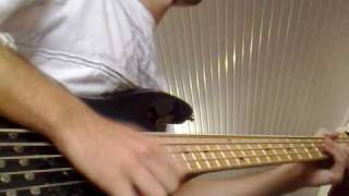 U TURN - JOE SAMPLE and TAKE 6 - Bass Cover