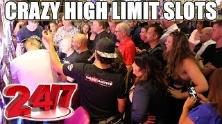 24/7 Crazy High Limit Slots! $1,000 Spins in Las Vegas | The Big Jackpot