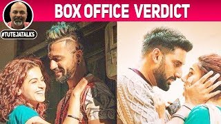 Box Office Verdict | Manmarziyaan | Abhishek Bachchan, Taapsee Pannu, Vicky Kaushal | #TutejaTalks