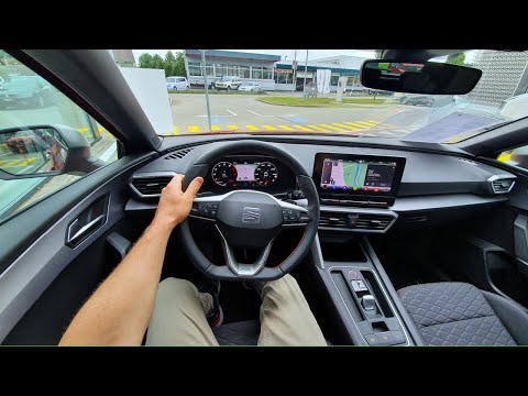 New Seat LEON FR 2020 Test Drive Review POV