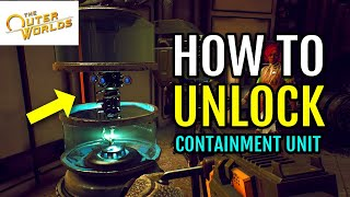 How to UNLOCK Gloop Gun Containment Unit (Weapons from the Void Quest | The Outer Worlds)