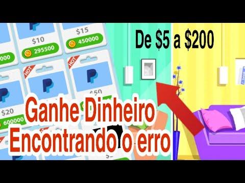 É NOVO! Ganhe de 5 a 200 Dólares no Paypal e Gifts Cards Encontrando o Erro \Money no Paypal/