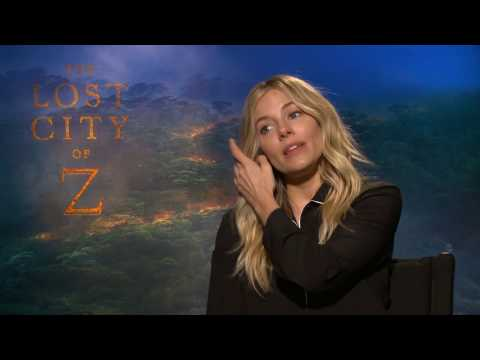 Interview with Sienna Miller | The Lost City of Z | Legion of Leia