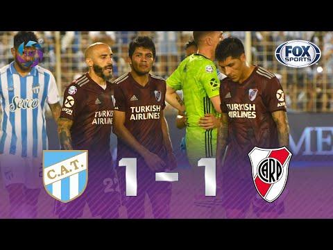 TÍTULO PERDIDO NA ÚLTIMA RODADA! INACREDITÁVEL! Veja melhores momentos de Tucumán 1x1 River Plate