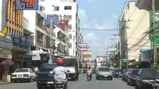 preview picture of video 'Korat Street Scene 2 (Nakhon Ratchasima) : Business District'