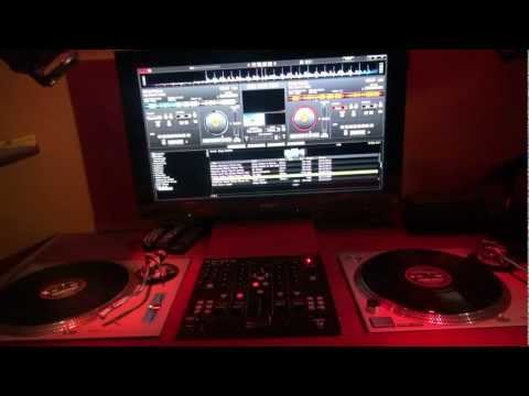 Using Serato Time Coded Records with Virtual DJ Pro & American Audio's 14MXR