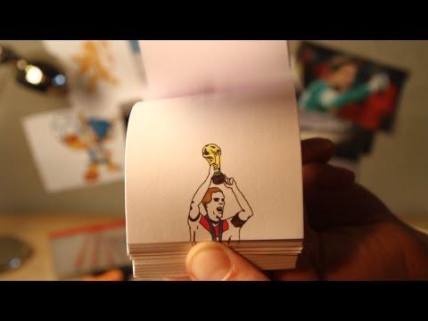 Τα γκολ του Μουντιάλ με τεχνική flip book!