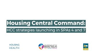 HCC Strategies Launching in SPAs 4 and 7