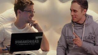 Средства защиты от Эдварда Сноудена. Подписчики канала SunandreaS улыбаются. Тёмные пятна Сноудена.