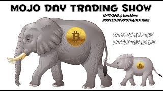 12/17/18 ₿itcoin and the little tag along 🐘 The Mojo Trading Show
