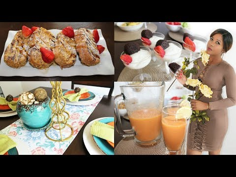 EASY BRUNCH RECIPES & Tips for Entertaining