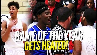 """""""THEY CAN'T HANDLE ME, IT'S OVER WITH!"""" Vashon VS Chaminade Goes DOWN To The Wire!!"""