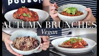 Autumn Brunch Recipes (Vegan/Plant-based) | JessBeautician
