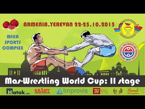 Добро пожаловать в Армению на Открытый чемпионат Европы по мас-рестлингу 2015 года!