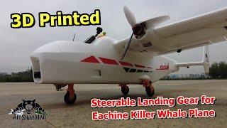 DIY 3D Printed Steerable Landing Gear for RC Airplanes