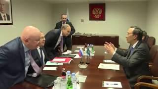 Встреча с Министром иностранных дел Казахстана К.К.Абдрахмановым