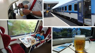 Prague to Munich by train - the civilised way...