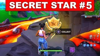 WEEK 5 SECRET BATTLE STAR LOCATION GUIDE! - Fortnite Find the Secret Battle Star in Loading Screen 5
