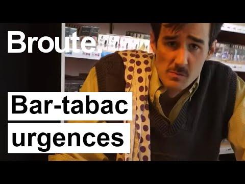 Le premier Bar-Tabac-Urgences - Broute