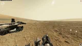 Панорама Марса - марсоход Curiosity: 177-ой марсианский день