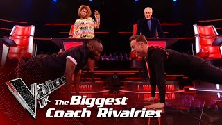 The Biggest Coach Rivalries! | The Voice UK 2019