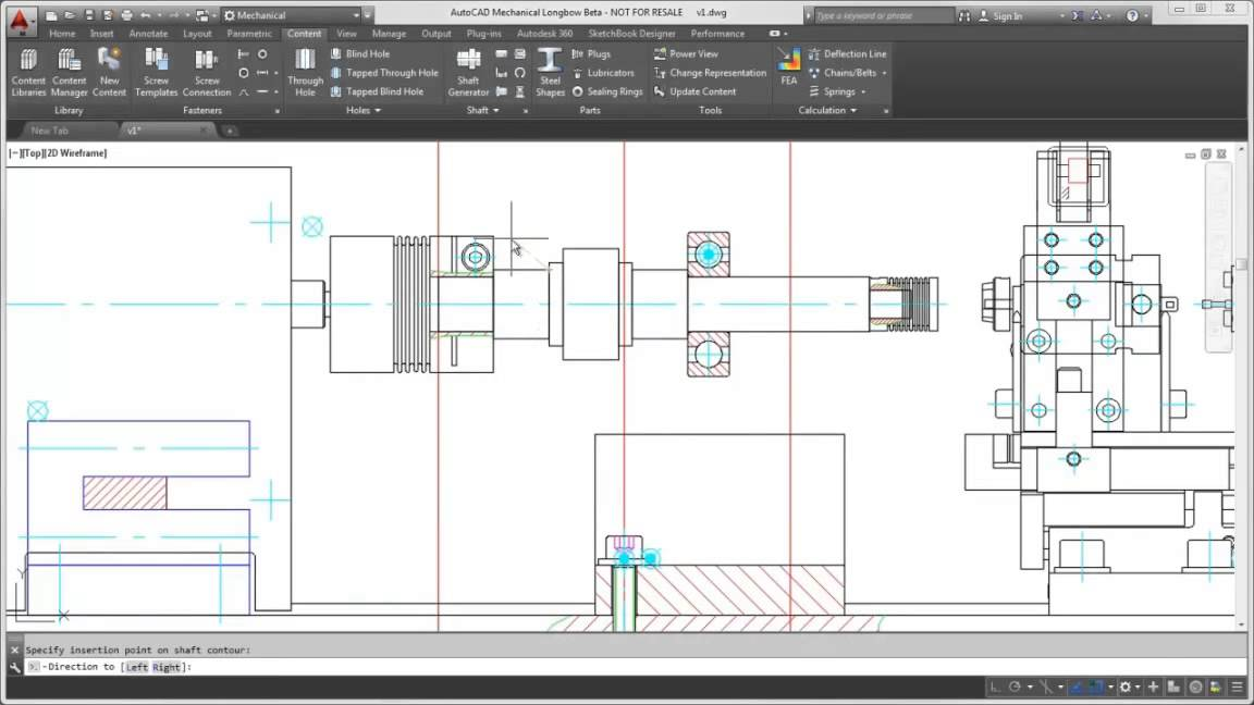 Autocad Mechanical Engineering Free Download