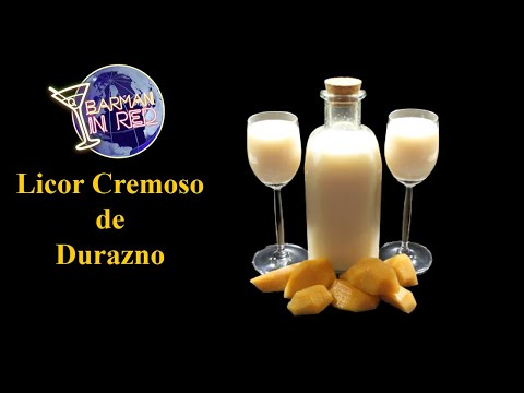 Licor de Pêssego Cremoso