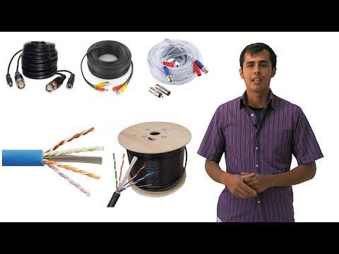 Qué cable usar para cámaras de seguridad CCTV