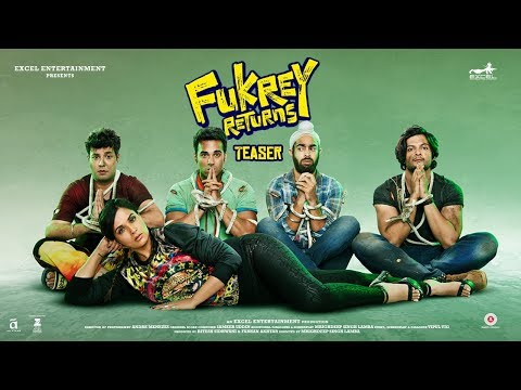 Download Fukrey Returns Teaser| Pulkit Samrat | Varun Sharma | Manjot Singh | Ali Fazal | Richa Chadha HD Video